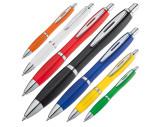 Kunststoffkugelschreiber vollfarbig